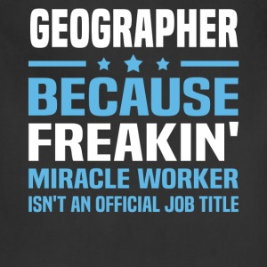 Geographer - Adjustable Apron