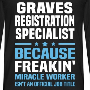 Graves Registration Specialist - Men's Premium Long Sleeve T-Shirt