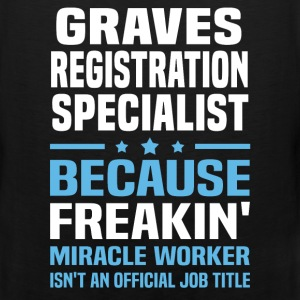 Graves Registration Specialist - Men's Premium Tank