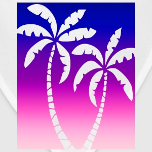 Women's Pink and Purple Ombre Palm Cutout  - Bandana