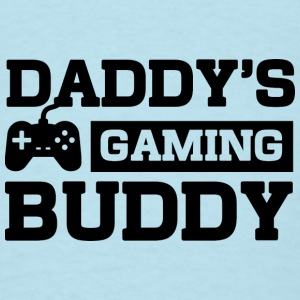 Daddy's Gaming Buddy Baby Bodysuits - Men's T-Shirt