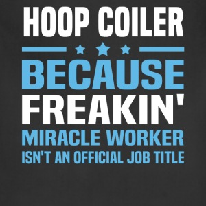 Hoop Coiler - Adjustable Apron