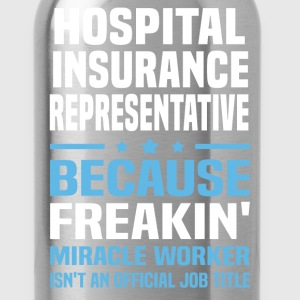 Hospital Insurance Representative - Water Bottle