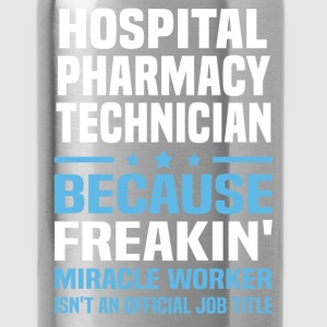 Hospital Pharmacy Technician - Water Bottle