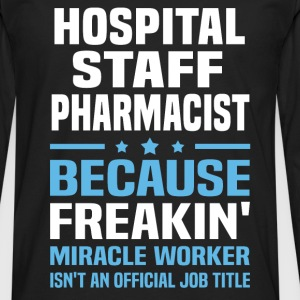 Hospital Staff Pharmacist - Men's Premium Long Sleeve T-Shirt