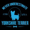 Dog Yorkshire Terrier NUM T-Shirts - Men's Premium T-Shirt