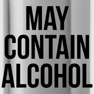 May Contain Alcohol Funny Quote Sportswear - Water Bottle