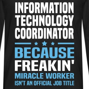 Information Technology Coordinator - Men's Premium Long Sleeve T-Shirt