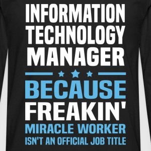 Information Technology Manager - Men's Premium Long Sleeve T-Shirt