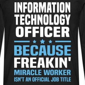Information Technology Officer - Men's Premium Long Sleeve T-Shirt
