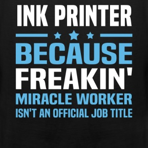Ink Printer - Men's Premium Tank
