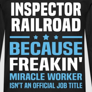 Inspector Railroad - Men's Premium Long Sleeve T-Shirt