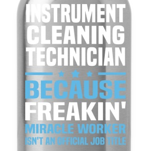 Instrument Cleaning Technician - Water Bottle