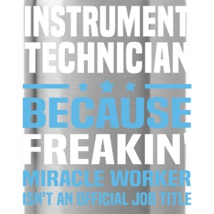 Instrument Technician T-Shirts - Water Bottle