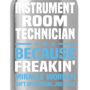 Instrument Room Technician T-Shirts - Water Bottle