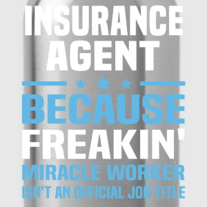 Insurance Agent T-Shirts - Water Bottle