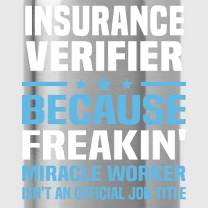 Insurance Verifier T-Shirts - Water Bottle