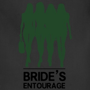Bride's Entourage Tee - Adjustable Apron