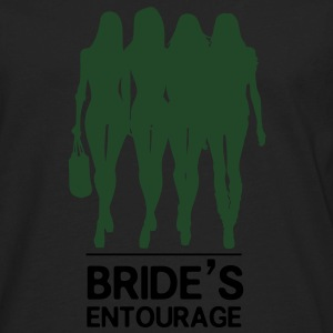 Bride's Entourage Tee - Men's Premium Long Sleeve T-Shirt