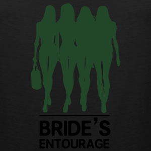 Bride's Entourage Tee - Men's Premium Tank