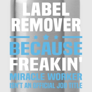 Label Remover - Water Bottle