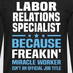 Labor Relations Specialist - Men's Premium Long Sleeve T-Shirt