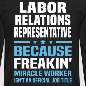 Labor Relations Representative - Men's Premium Long Sleeve T-Shirt