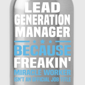 Lead Generation Manager - Water Bottle
