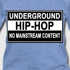 underground_hiphop_flex_tshirts_ - Women's Wideneck Sweatshirt