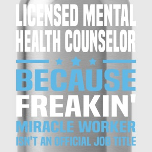 Licensed Mental Health Counselor - Water Bottle