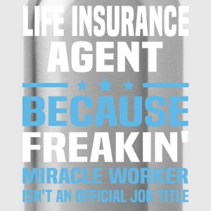 Life Insurance Agent - Water Bottle