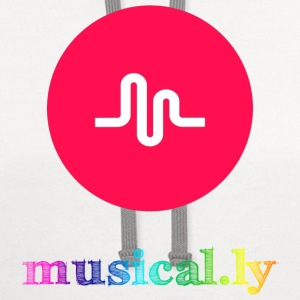 Musical.ly Rainbow T-Shirts - Contrast Hoodie