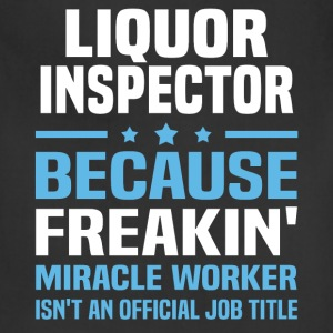 Liquor Inspector - Adjustable Apron