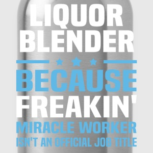 Liquor Blender - Water Bottle