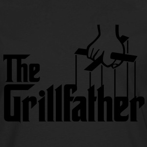 The Grillfather t-shirt - Men's Premium Long Sleeve T-Shirt