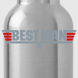 Best Man (Top Gun Style) - Water Bottle