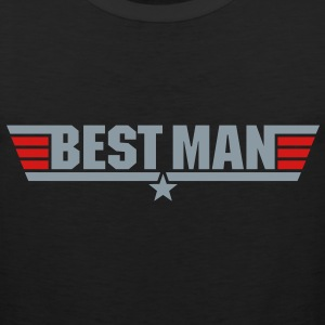 Best Man (Top Gun Style) - Men's Premium Tank