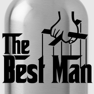 The Best Man (The Godfather style) - Water Bottle
