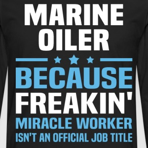 Marine Oiler - Men's Premium Long Sleeve T-Shirt