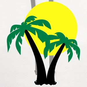 Palm Trees  T-Shirts - Contrast Hoodie