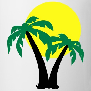 Palm Trees  T-Shirts - Coffee/Tea Mug