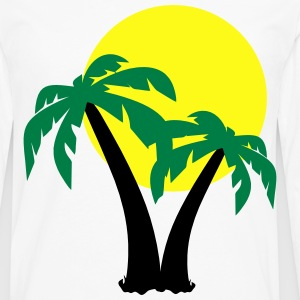 Palm Trees  T-Shirts - Men's Premium Long Sleeve T-Shirt
