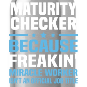 Maturity Checker - Water Bottle