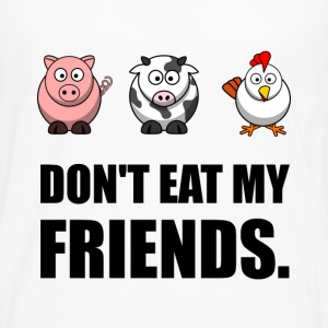 Don't Eat My Friends - Men's Premium Long Sleeve T-Shirt