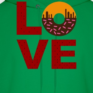 Love Food Pattern - Men's Hoodie