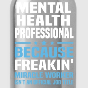 Mental Health Professional - Water Bottle