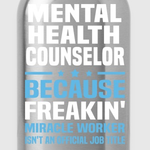 Mental Health Counselor - Water Bottle