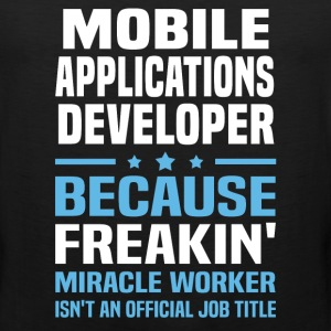 Mobile Applications Developer - Men's Premium Tank