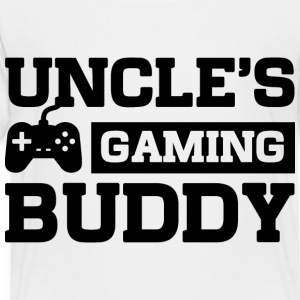 Uncles Gaming Buddy Kids' Shirts - Toddler Premium T-Shirt