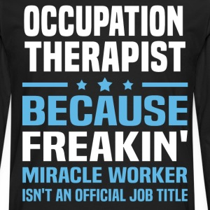 Occupation Therapist - Men's Premium Long Sleeve T-Shirt